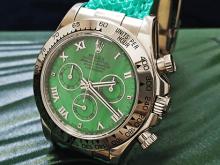 Обзор реплики женских часов Rolex Cosmograph Daytona Beach Green 40mm (референс оригинала 116519)