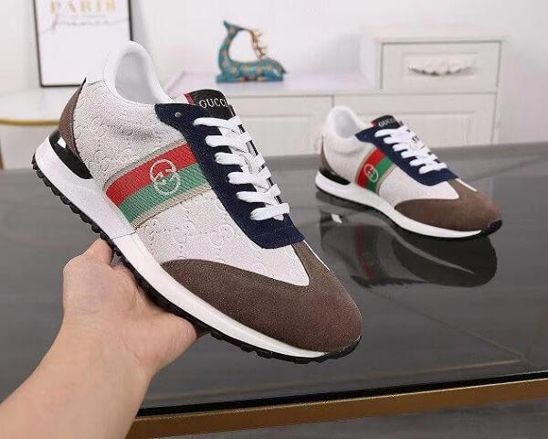 Кроссовки Gucci  №F101