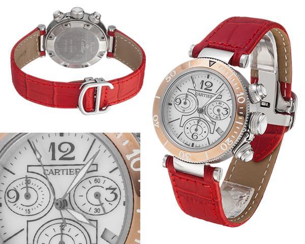 Женские часы Cartier  №MX3360