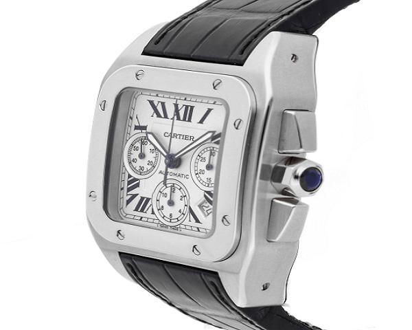 Часы Cartier Santos 100 Chronograph