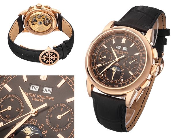 Мужские часы Patek Philippe  №MX3285