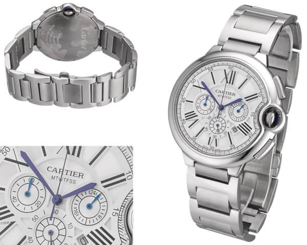 Мужские часы Cartier  №MX3489