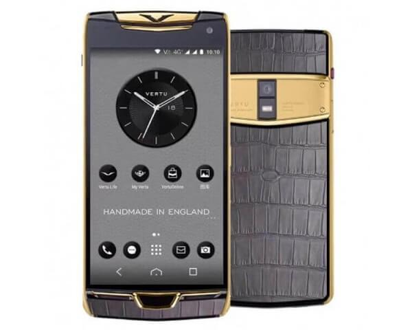 Смартфон Vertu  Constellation Х 2019 Gold Grey Alligator