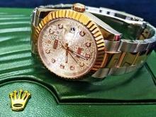 Обзор реплики швейцарских часов Rolex Oyster Perpetual Datejust 36mm Steel and Everose Gold