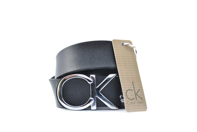 Ремень  Calvin Klein Real серебро Leather №B0217