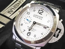 Обзор реплики мужских часов Officine Panerai Luminor Marina 42mm (реф.оригинала PAM01523)