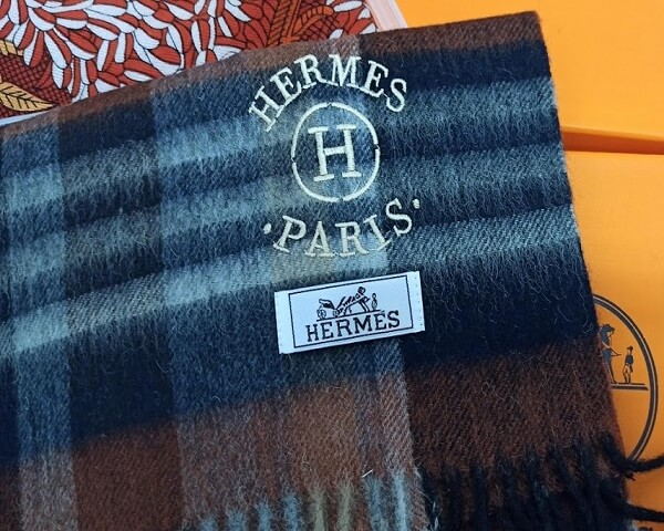 Шарф Hermes  №K026