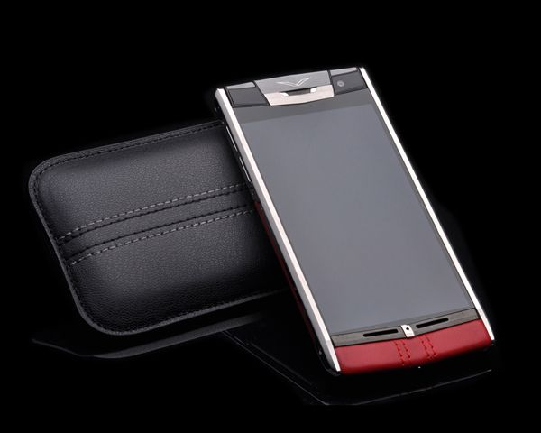 Смартфон Vertu  Signature Touch Claret Leather