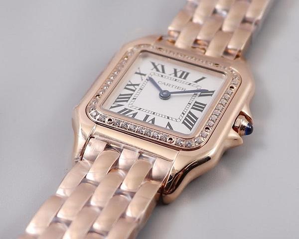 Женские часы Cartier  №MX3641
