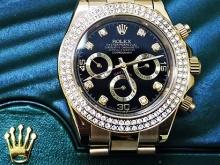 Обзор реплики женских часов Rolex Cosmograph Daytona 40 mm Yellow Gold