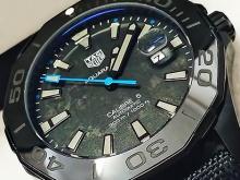 Обзор реплики швейцарских мужских часов TAG Heuer Aquaracer Carbon Edition