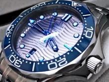Обзор реплики мужских часов Omega Seamaster Professional Diver 300m (референс оригинала 210.30.42.20.06.001)