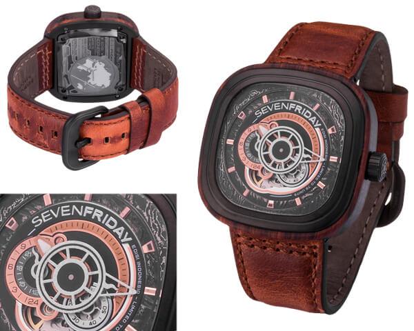 Копия часов Sevenfriday  №MX3464