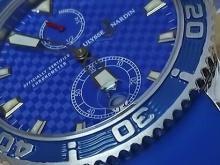 Обзор реплики мужских швейцарских часов Ulysse Nardin Diver Maxi Marine Diver Limited Edition