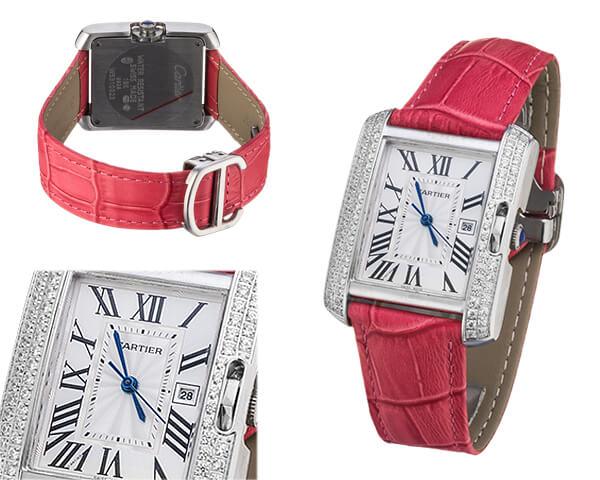 Женские часы Cartier  №MX3376