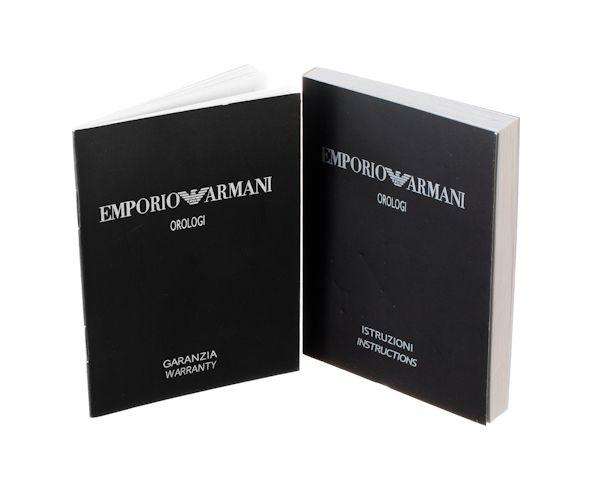 Документы для часов Emporio Armani  №1077