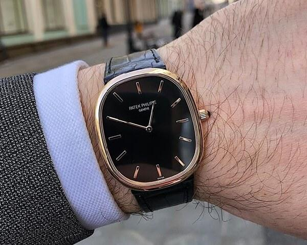 Часы Patek Philippe Golden Ellipse 5738
