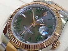 Обзор реплики швейцарских мужских часов Rolex Datejust 41 mm Steel and Everose Gold