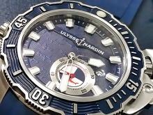 Обзор реплики мужских часов Ulysse Nardin Diver Deep Dive Hammerhead Shark 46 mm
