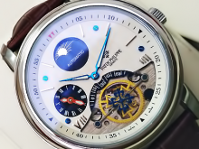 Обзор реплики мужских наручных часов Patek Philippe Grand Complications