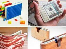 Дизайнерские кошельки, обзор самых неестественных