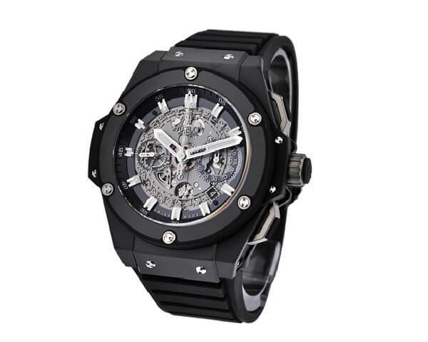 Часы Hublot King Power Unico All Black