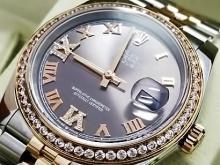 Обзор реплики женских швейцарских часов Rolex Oyster Perpetual Datejust 36mm Steel and Everose Gold