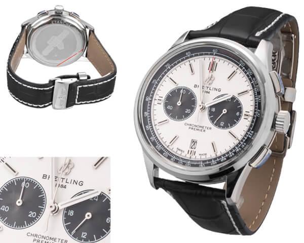 Мужские часы Breitling  №MX3614 (Референс оригинала AB0118221G1P1)