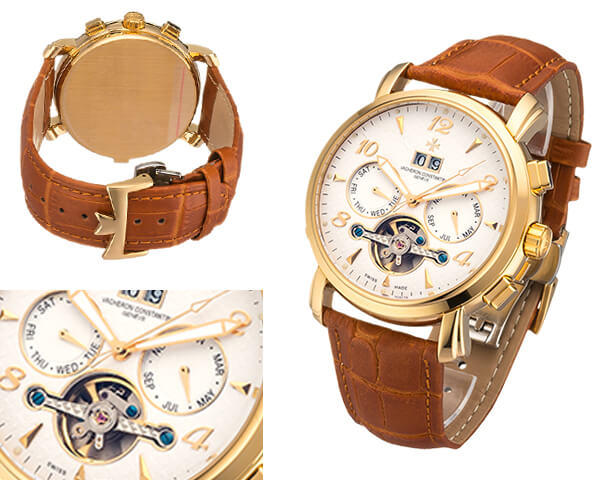 Мужские часы Vacheron Constantin  №MX3432