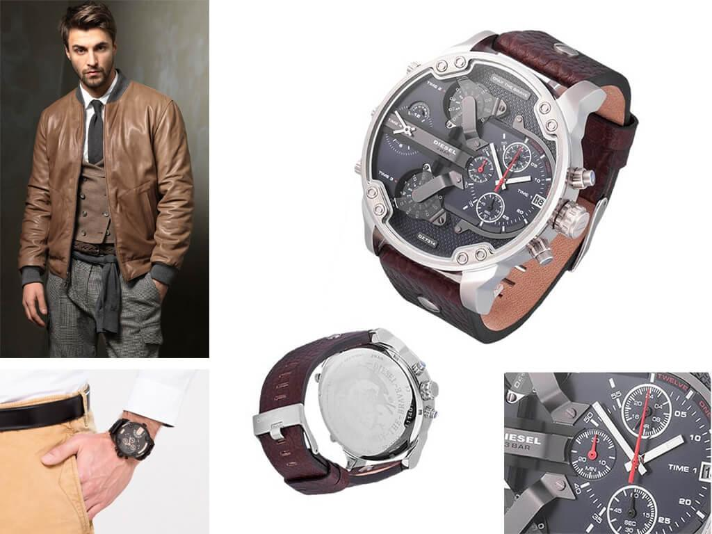 Наручные мужские часы Дизель Дэдди