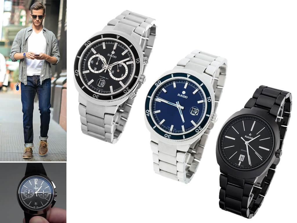 Мужские часы Rado из коллекции D-Star