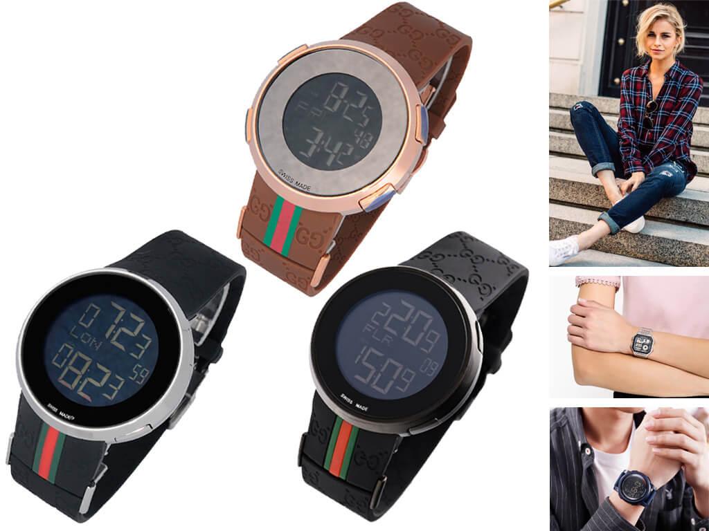 Электронные часы в стиле унисекс