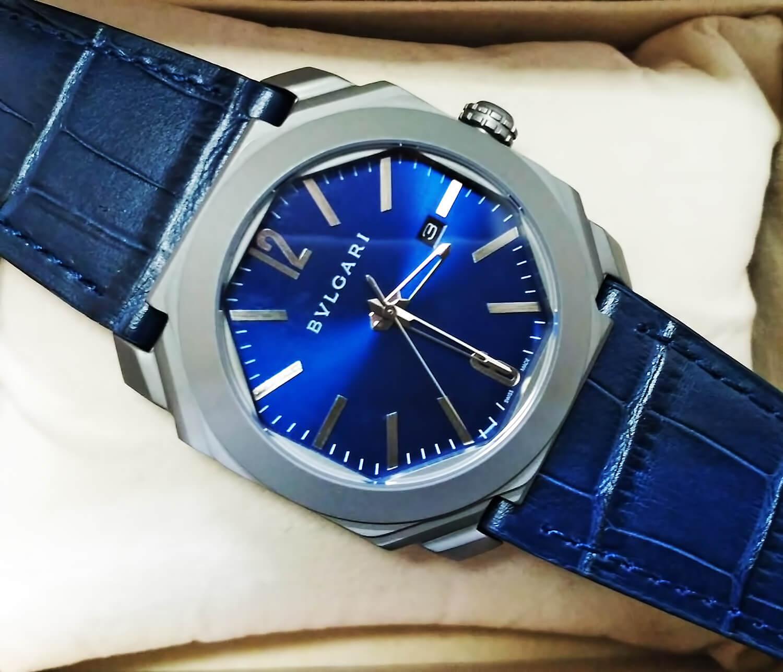 Реплика мужских часов Bvlgari Octo