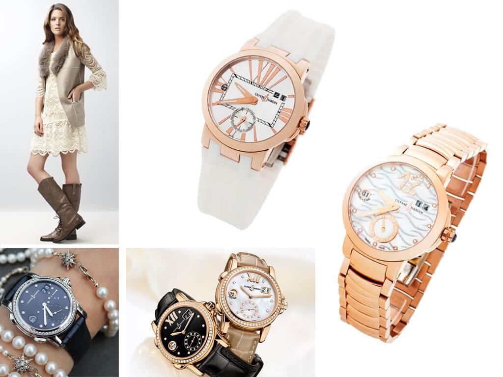 Женские часы Dual Time Lady из линейки Executive бренда Ulysse Nardin