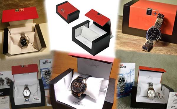Брендовая коробка для часов Tissot