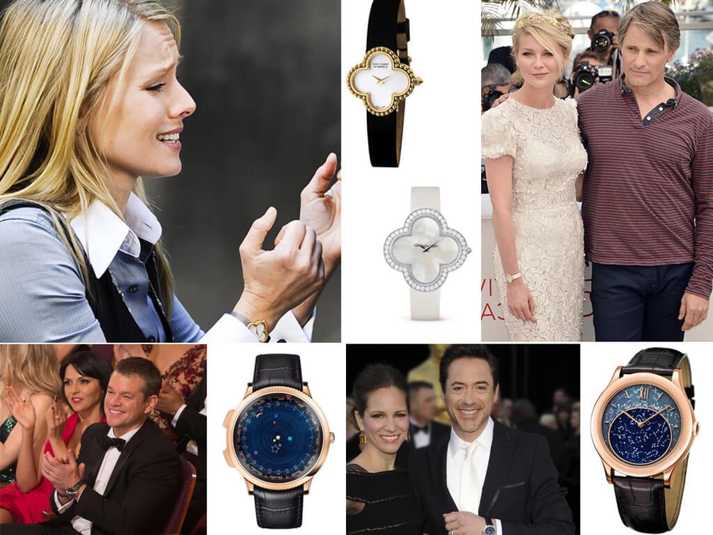 Знаменитые владельцы часов Van Cleef & Arpels