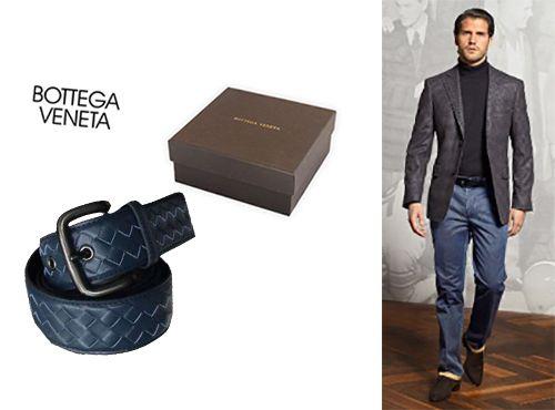 Кожаный ремень от Bottega Veneta