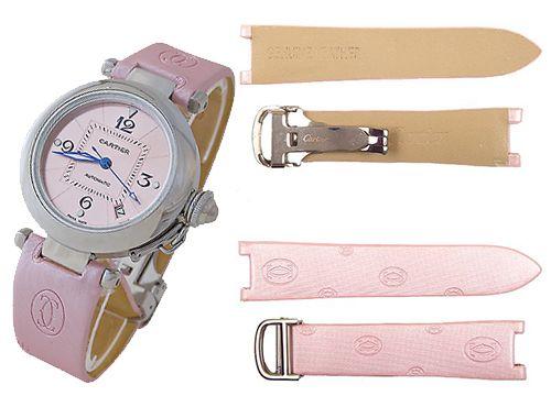 Ультрамодный ремешок на часы Cartier комбинированные