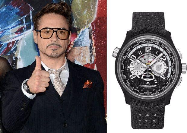 Наручные часы Роберта Дауни-мл. Jaeger LeCoultre AMVOX 5