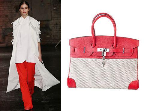 Женская сумка Hermes без ремня через плечо