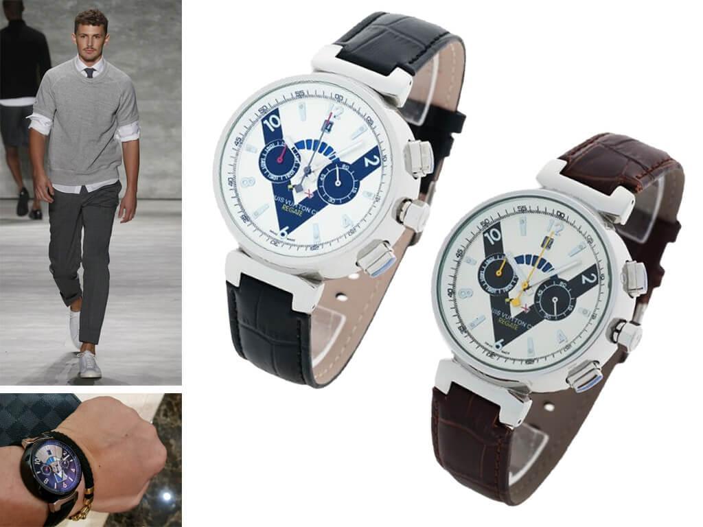 Мужские часы Louis Vuitton из коллекции Tambour LV Cup