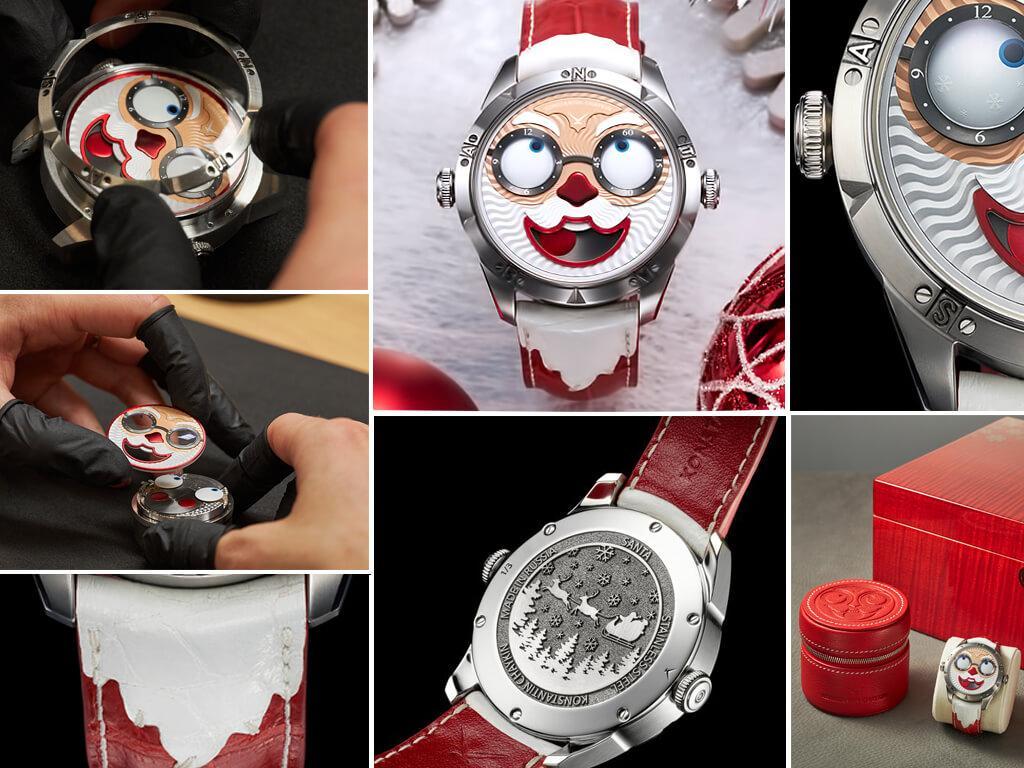 Санта - часы Константина Чайкина