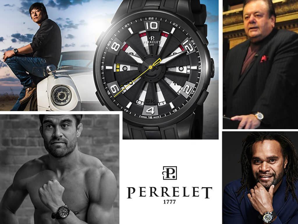 Знаменитые владельцы часов Perrelet (Сон Кан, Поль Сорвино, Ариэль Секстон, Кристиан Карамбё)
