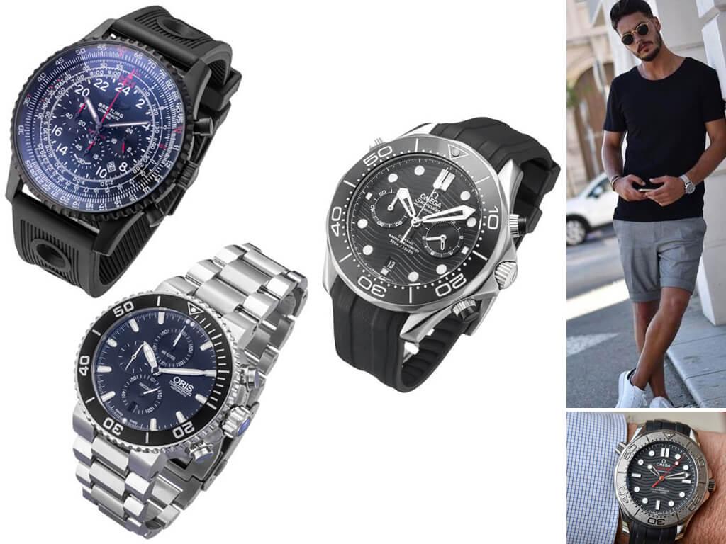Мужские часы в спортивном стиле