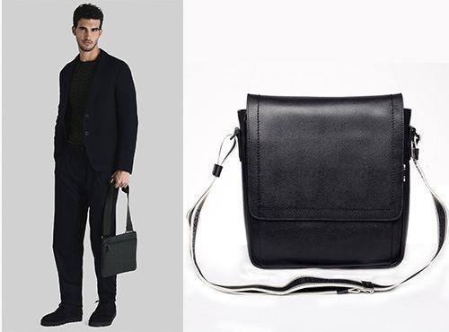 Мужская сумка Salvatore Ferragamo с длинным ремнем
