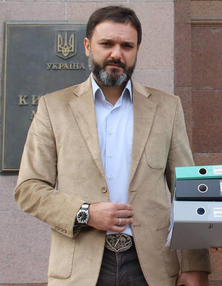 Депутат ВРУ Виктор Черный