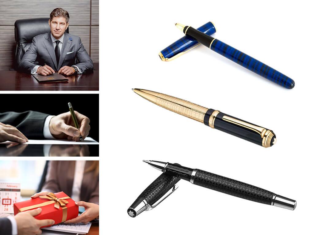 Ручка в подарок руководителю - уместный презент по любому поводу