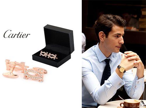 Запонки Cartier