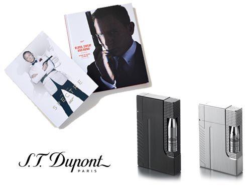 Зажигалка S.T. Dupont James Bond Gatsby Lighter Gun Metal