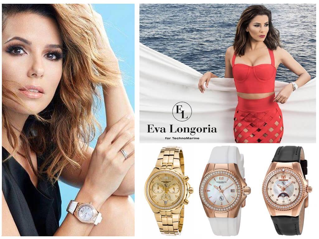 В рамках сотрудничества с Technomarine Ева Лонгория стала создательницей уникальной женской коллекции Eva Longoria Collection